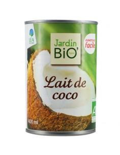 Leche coco JARDIN BIO 400 ml